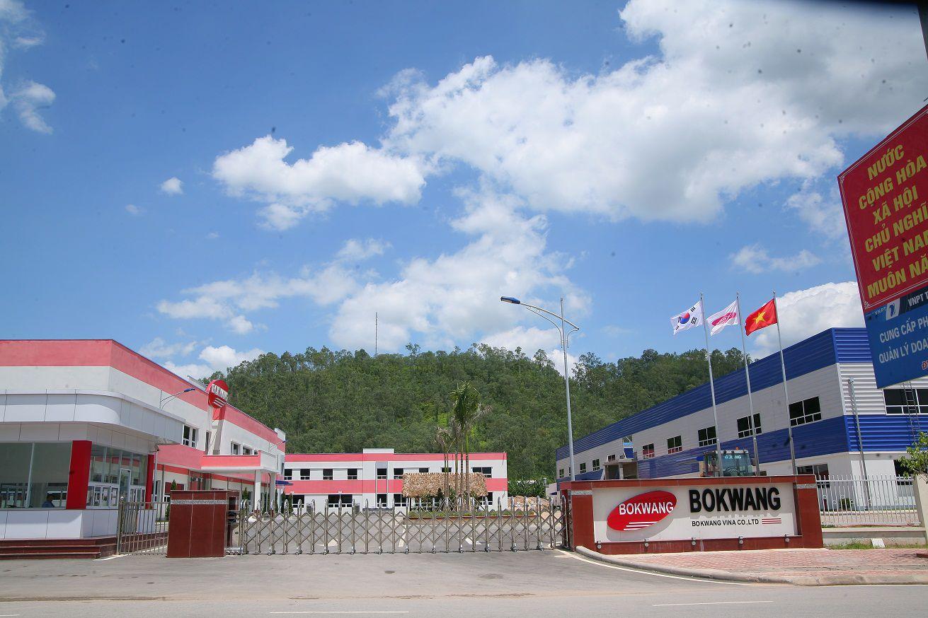Thi công lắp đặt và bảo trì hệ thống camera quan sát cho công ty Bokwang