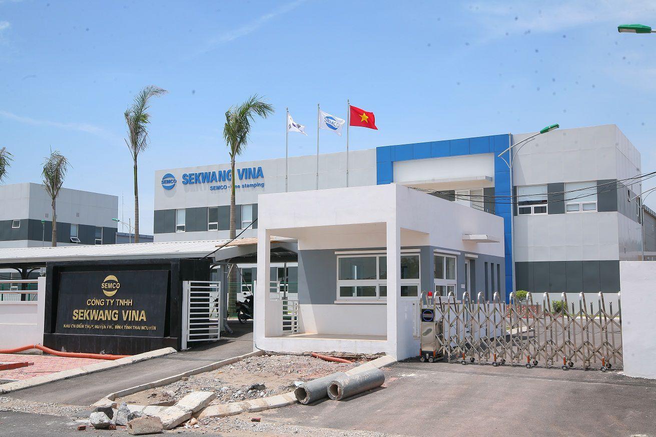 Thi công lắp đặt hệ thống camera quan sát nhà xưởng cho công ty Sekwang
