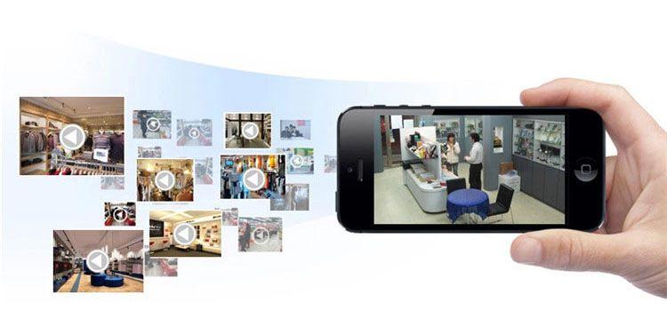 Camera giám sát dùng smartphone Android quản lí