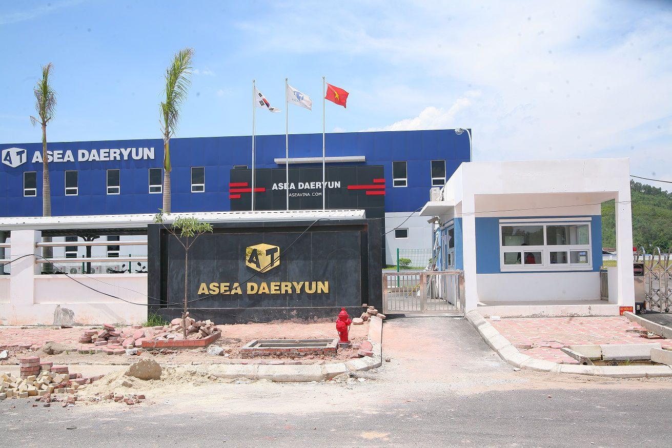 Thi công lắp đặt hệ thống mạng , camera giám sát cho  công ty Asia Daeryun Vina