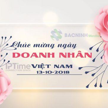 Chúc mừng ngày Doanh nhân Việt Nam (13/10/2018)