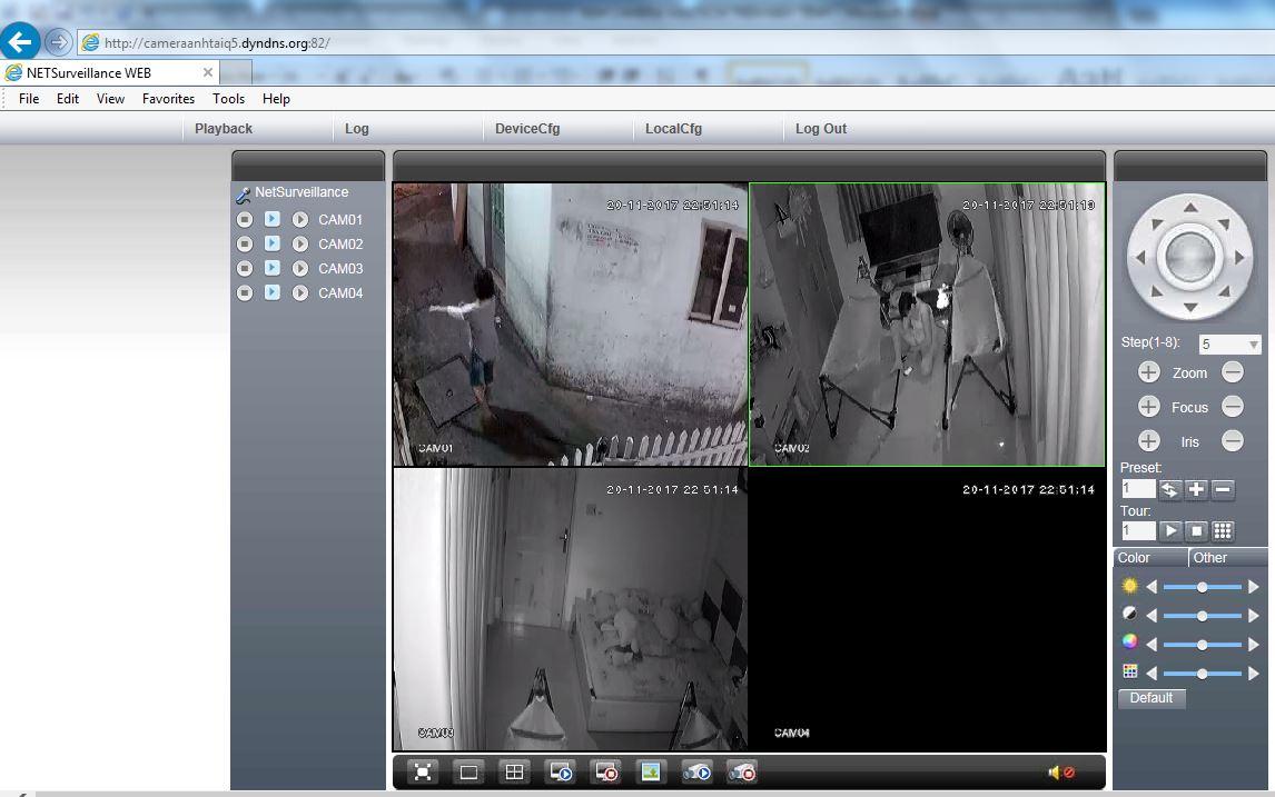 Xem camera Vantech trên máy tính