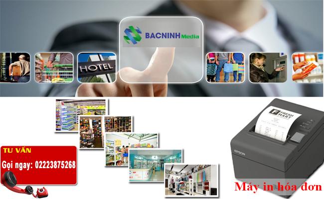 thi công triển khai hệ thống máy in hóa đơn in bill cho cửa hàng showrooom