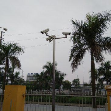 Giải pháp lắp đặt camera cho nhà xưởng công ty