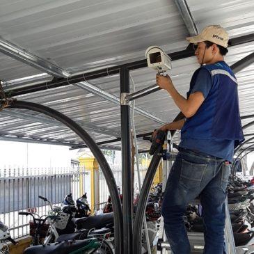 Một số hoạt động thi công lắp đặt  hệ thống camera quan sát tháng 11