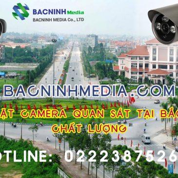 Đơn vị thi công lắp đặt camera quan sát tại Bắc Ninh