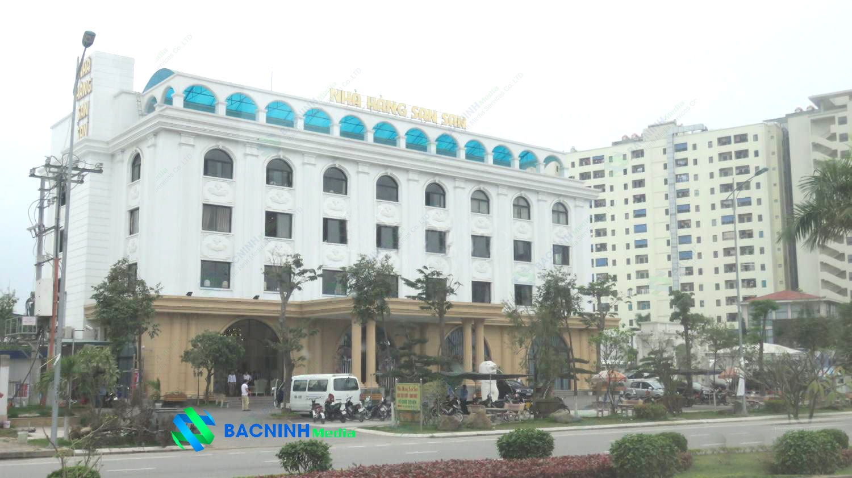 Lắp đặt camera quan sát nhà hàng San San Bắc Ninh