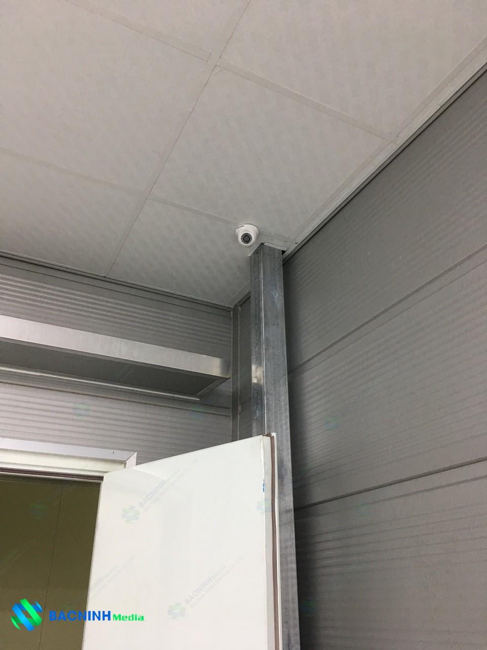 nghiệm thu và bàn giao hệ thống camera nhà xường