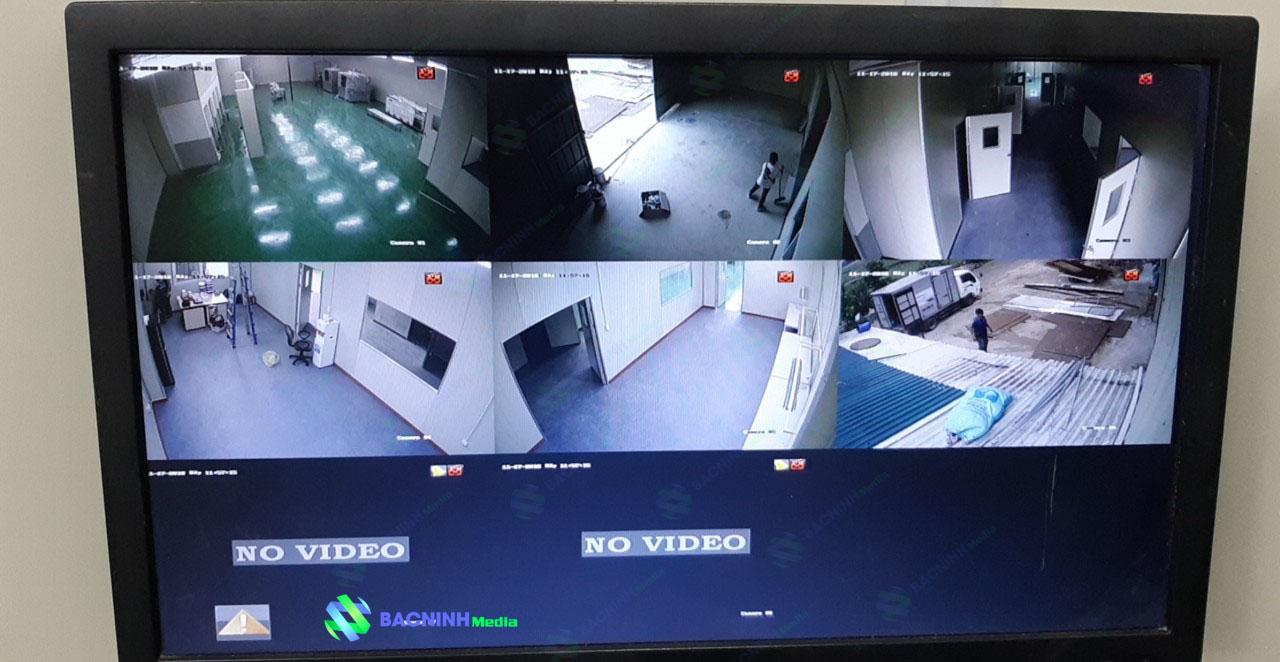 Thi công lắp đặt hệ thống camera quan sát, mạng nội bộ công ty ANC