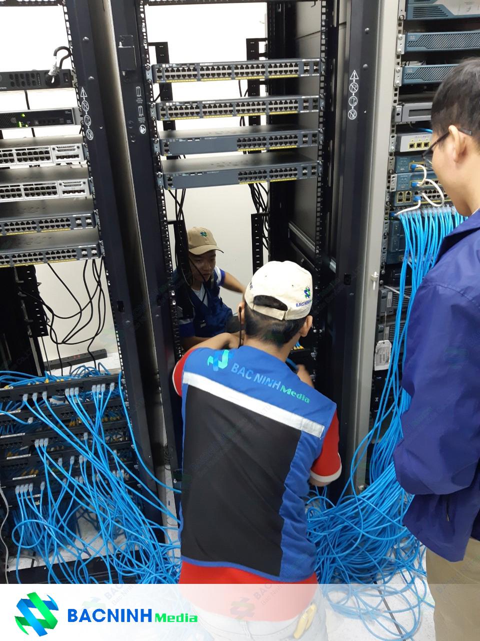 lợi ích thi công lắp đặt hệ thống mạng