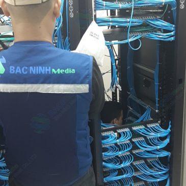 Cập nhật dự án thi công hệ thống mạng LAN cho công ty Willtech xưởng 2