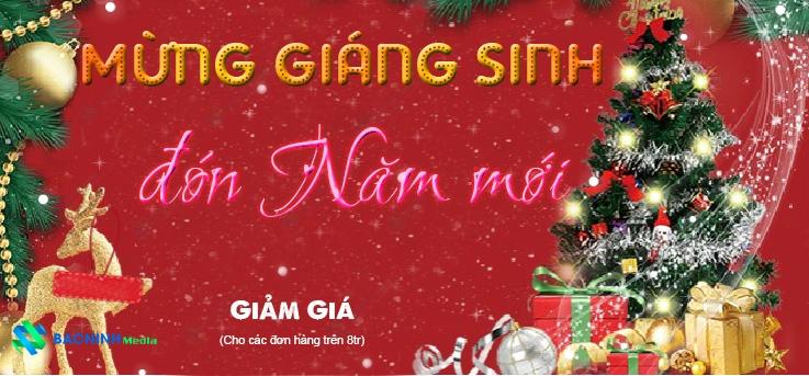 Bắc Ninh Media đón Giáng sinh mừng năm mới 2019 nhiều ưu đãi bất ngờ