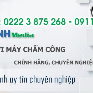 Cung cấp, lắp đặt máy chấm công chính hãng giá tốt nhất tại Bắc Ninh