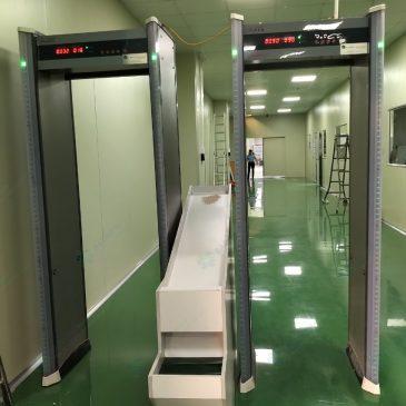 Cổng dò kim loại tự động