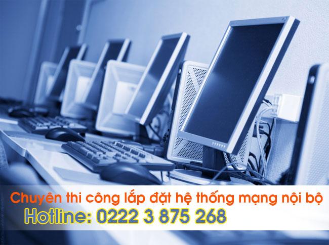 Thi công mạng LAN