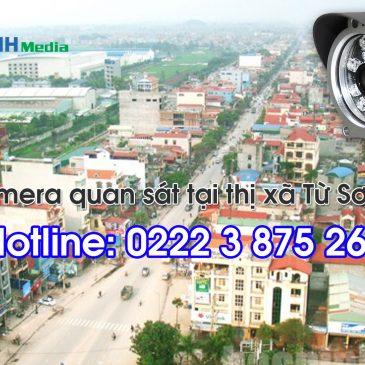 Thi công camera quan sát tại thị xã Từ Sơn