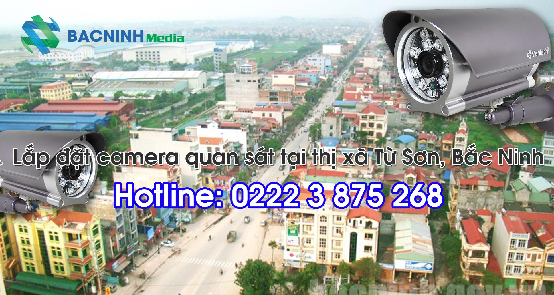 camera quan sát Từ Sơn