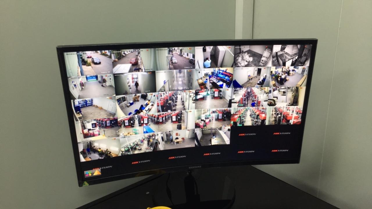 camera giám sát nhà xưởng