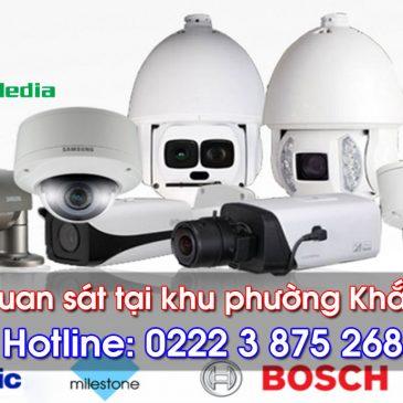 Lắp đặt camera quan sát tại phường Khắc Niệm, Bắc Ninh