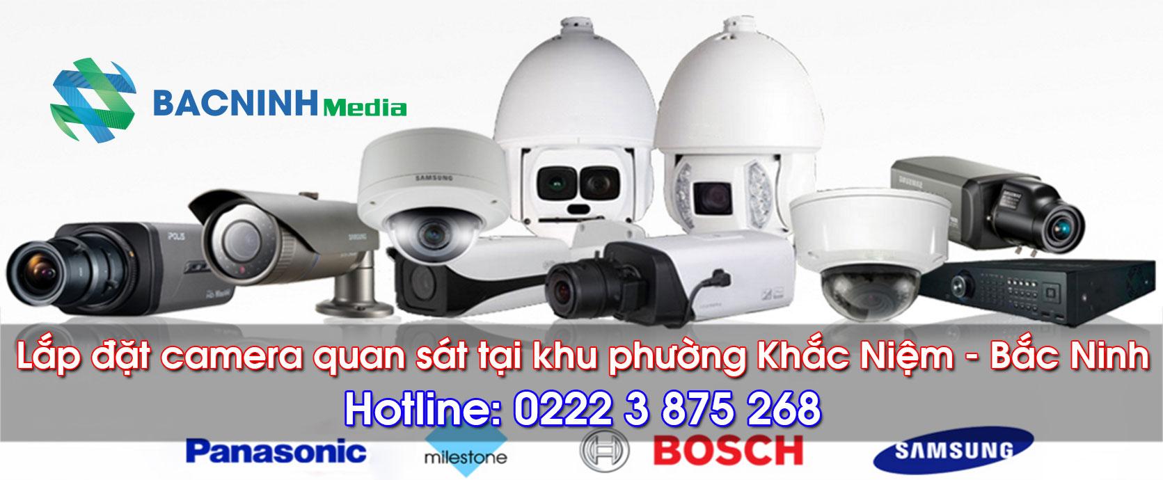 Lắp đặt camera quan sát tại phường Khắc Niệm Bắc Ninh