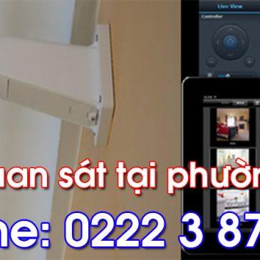 Lắp đặt camera quan sát tại Tân Hồng Từ Sơn