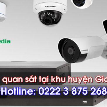 Lắp đặt camera quan sát tại huyện Gia Bình, Bắc Ninh