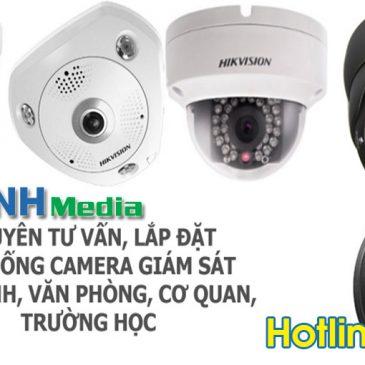 Lắp đặt camera quan sát tại xã Kim Chân thành phố Bắc Ninh