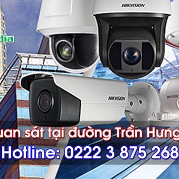 Lắp đặt camera quan sát tại đường Trần Hưng Đạo, thành phố Bắc Ninh
