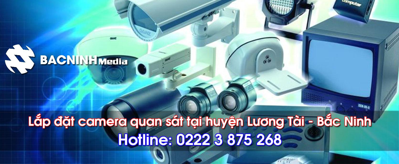 Lắp đặt camera quan sát tại huyện Lương Tài Bắc Ninh