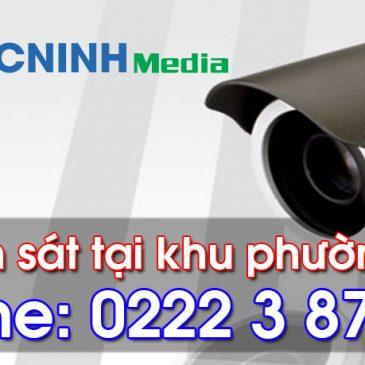 Lắp camera quan sát tại phường Hạp Lĩnh – Bắc Ninh