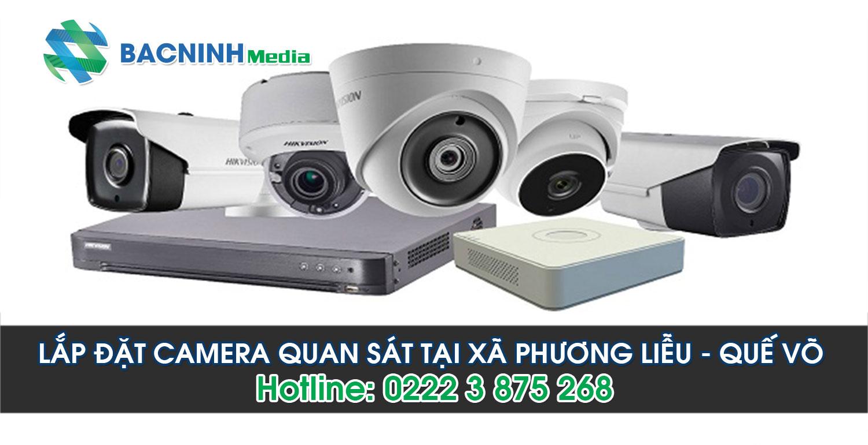 Lắp đặt camera quan sát tại xã Phương Liễu huyện Quế Võ Bắc Ninh