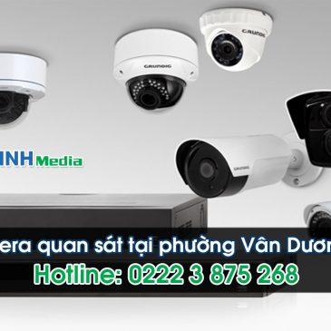 Lắp đặt camera tại phường Vân Dương – Bắc Ninh