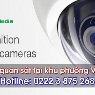 Lắp đặt camera quan sát tại phường Vũ Ninh – Bắc Ninh