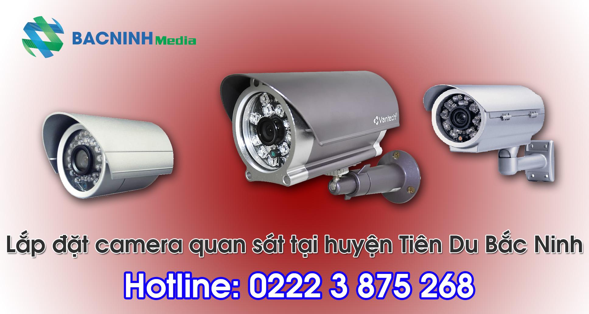 Lắp đặt camera tại phường Phong Khê Bắc Ninh