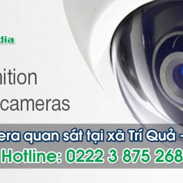 Lắp đặt camera tại xã Trí Quả huyện Thuận Thành
