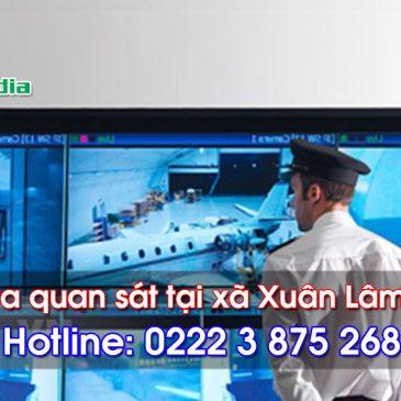 Lắp đặt camera tại xã Xuân Lâm Thuận Thành, Bắc Ninh