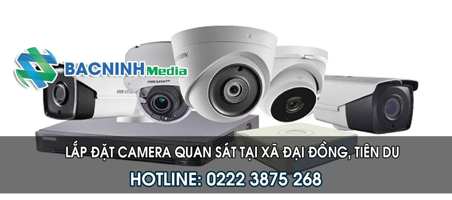 Lắp đặt camera quan sát tại xã Đại Đồng huyện Tiên Du Bắc Ninh