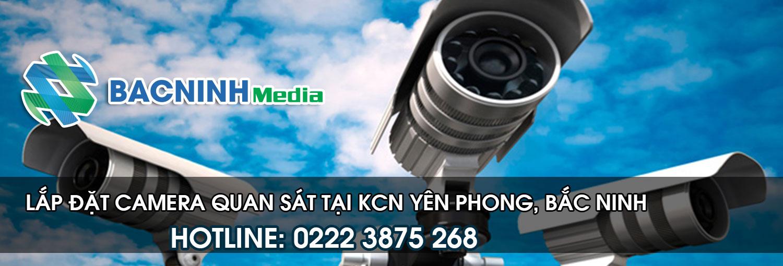 Lắp đặt camera quan sát tại KCN yên Phong Bắc Ninh
