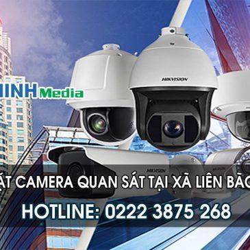 Lắp đặt camera tại Xã Liên Bão huyện Tiên Du