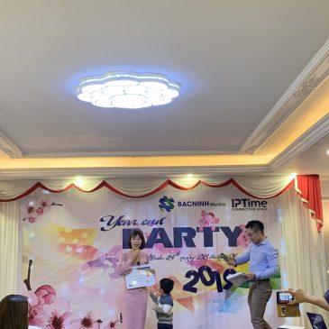 Tiệc tất niên công ty Bắc Ninh Media