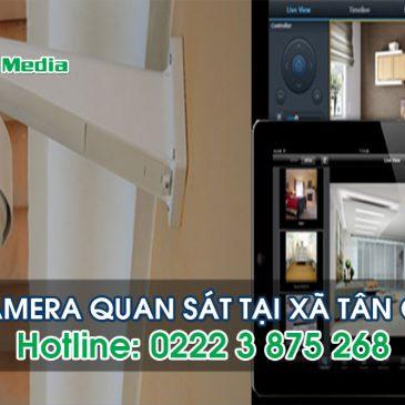 Lắp đặt camera tại xã Tân Chi huyện Tiên Du Bắc Ninh