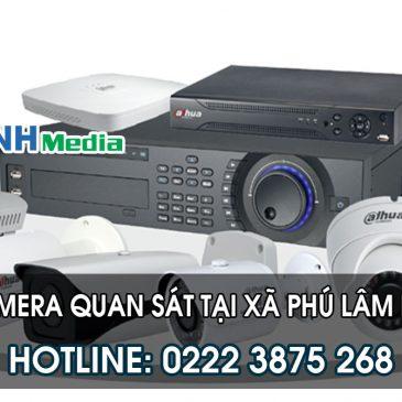 Lắp đặt camera tại Xã Phú Lâm huyện Tiên Du tỉnh Bắc Ninh