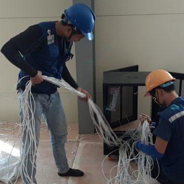 Thi công triển khai hệ thống mạng văn phòng cho các công ty tại Bắc Ninh