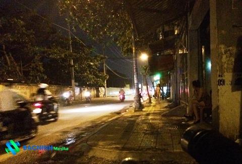 'Phố đèn đỏ' Tân Sơn nay đã bị xóa sổ
