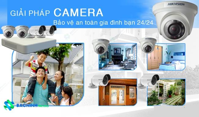 lắp đặt camera giám sát cho hộ gia đình