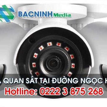 Hotline: 0222 3 875 268 – Lắp đặt hệ thống camera tại đường Ngọc Hân Công Chúa, Bắc Ninh