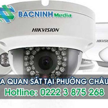 Dịch vụ lắp đặt camera quan sát tại phường Châu Khê thị xã Từ Sơn