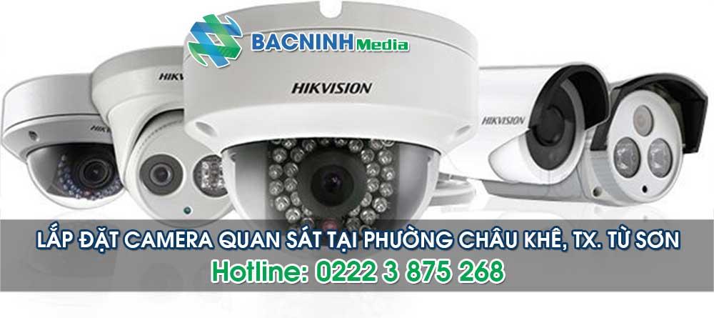 Dịch vụ lắp đặt camera tại phường Châu Khê thị xã Từ Sơn Bắc Ninh