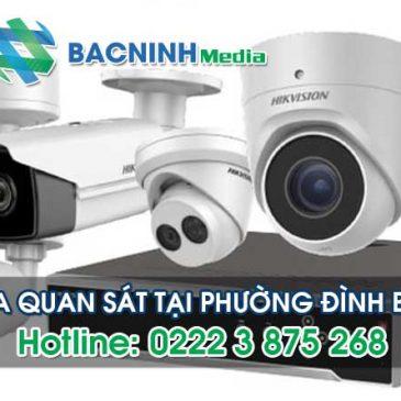 Dịch vụ lắp đặt camera quan sát tại phường Đình Bảng thị xã Từ Sơn