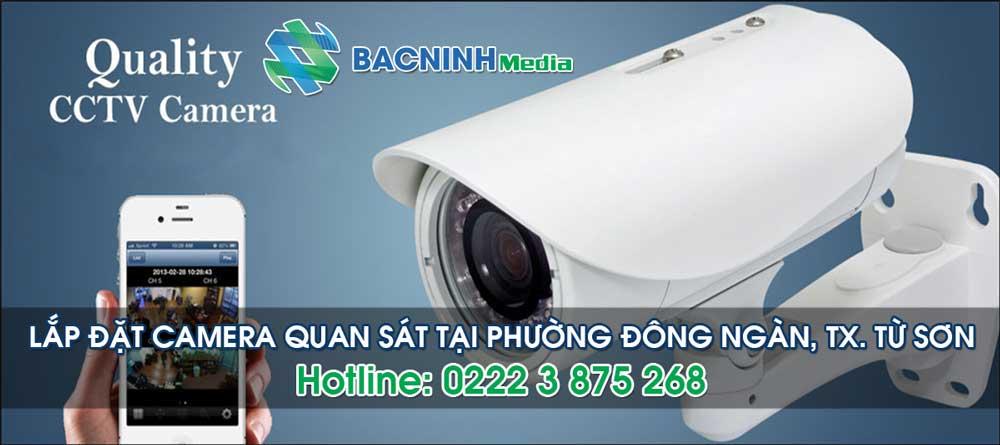 Lắp đặt camera quan sát tại phường Đông Ngàn thị xã Từ Sơn Bắc Ninh